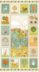 2173 1 -Forest-animals-panel-